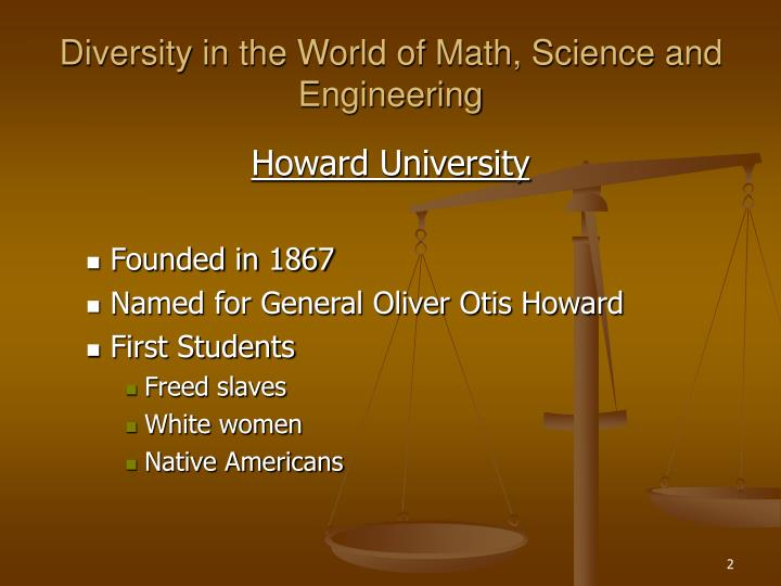 Diversity in the world of math science and engineering2