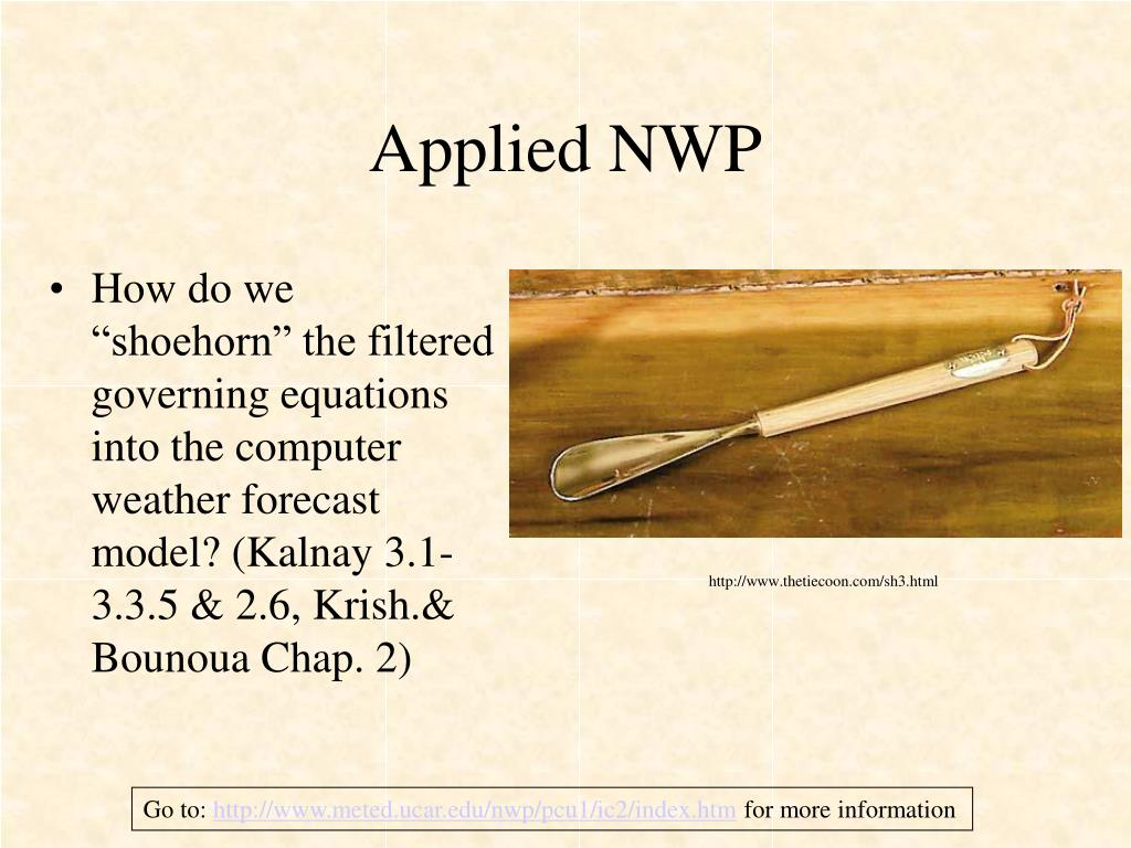 applied nwp l.