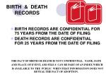 birth death records