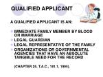 qualified applicant