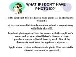 what if i don t have photo id