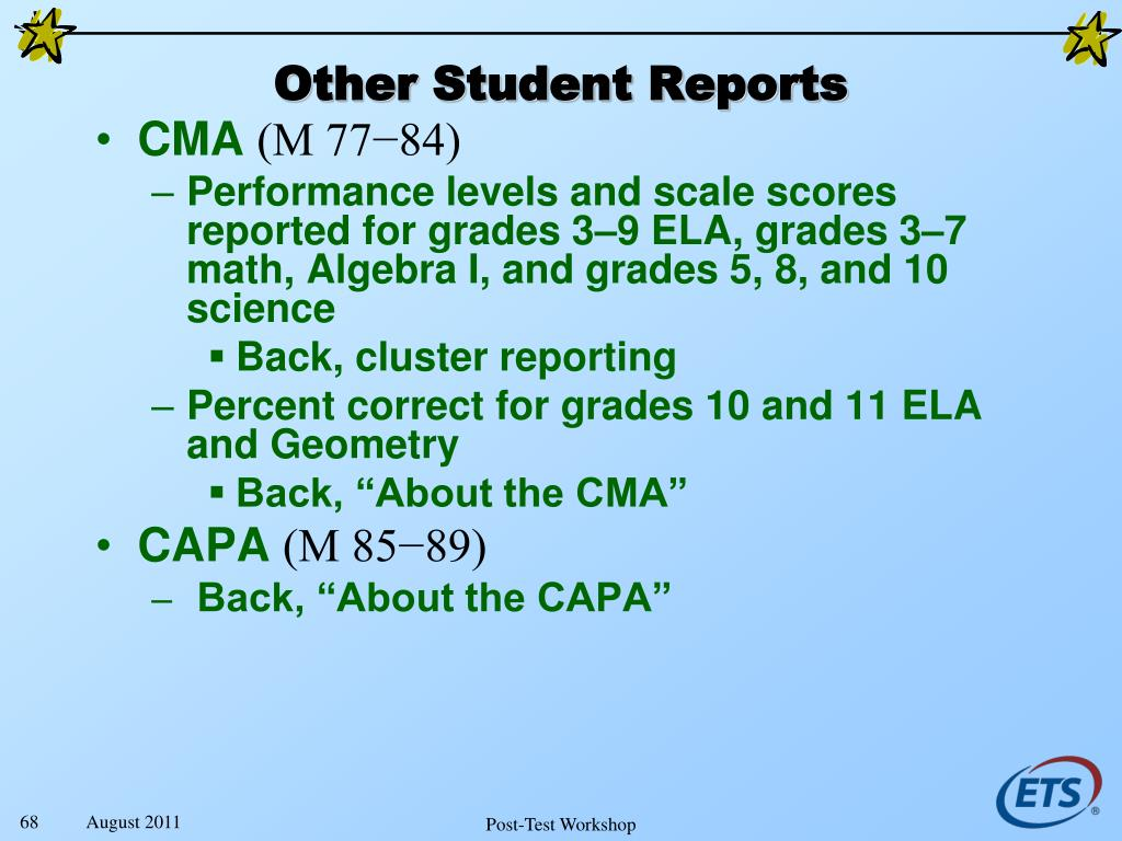 Other Student Reports