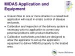 midas application and equipment59