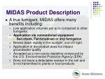 midas product description5