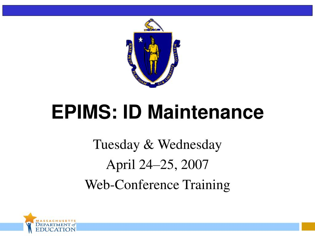 epims id maintenance l.