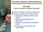 ksu qep global learning for engaged citizenship