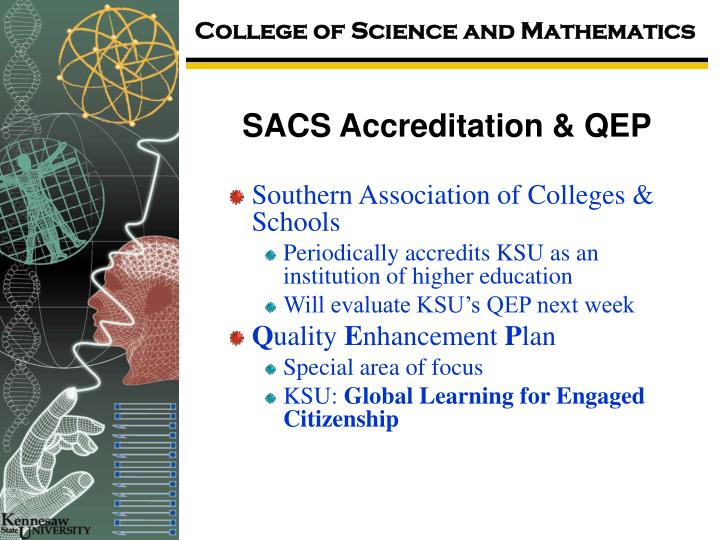Sacs accreditation qep