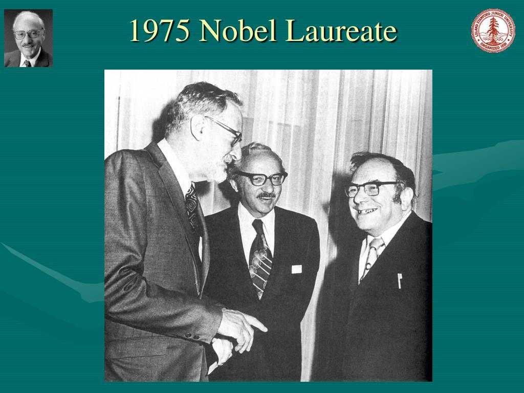 1975 Nobel Laureate