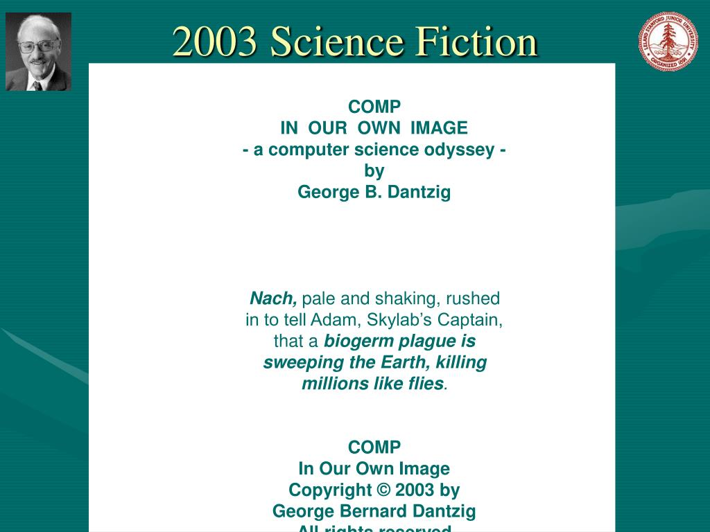 2003 Science Fiction