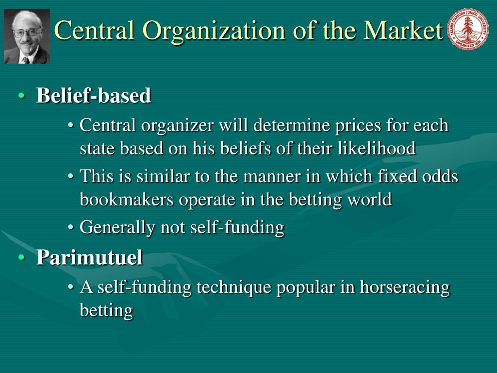 Central Organization of the Market
