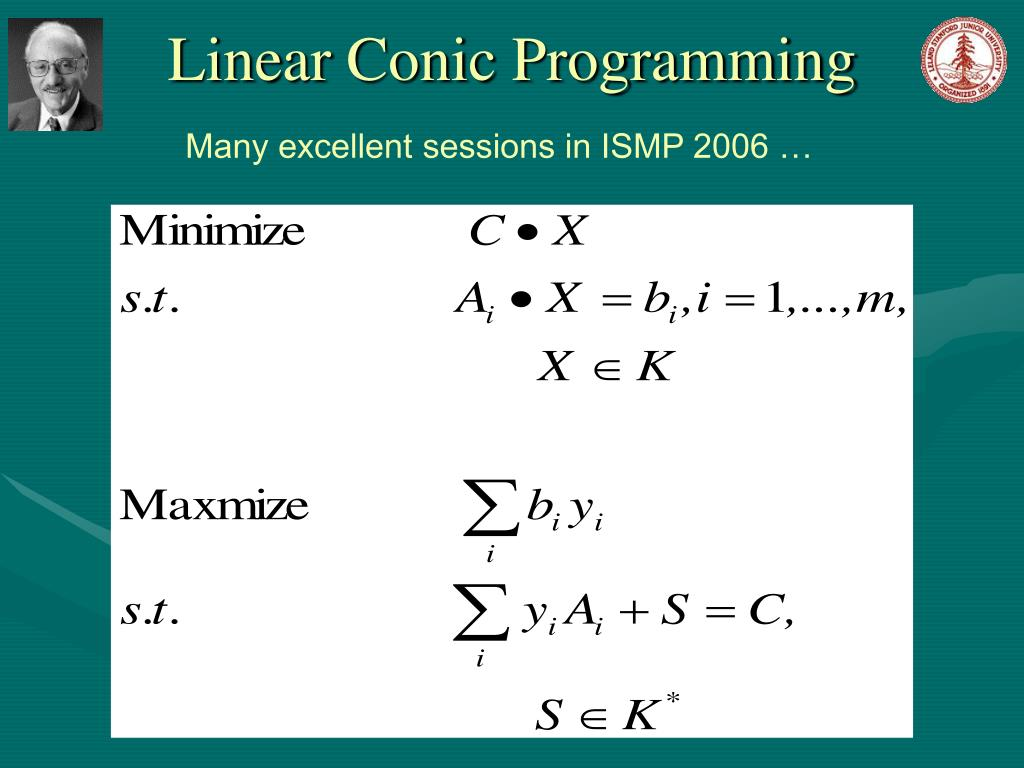 Linear Conic Programming