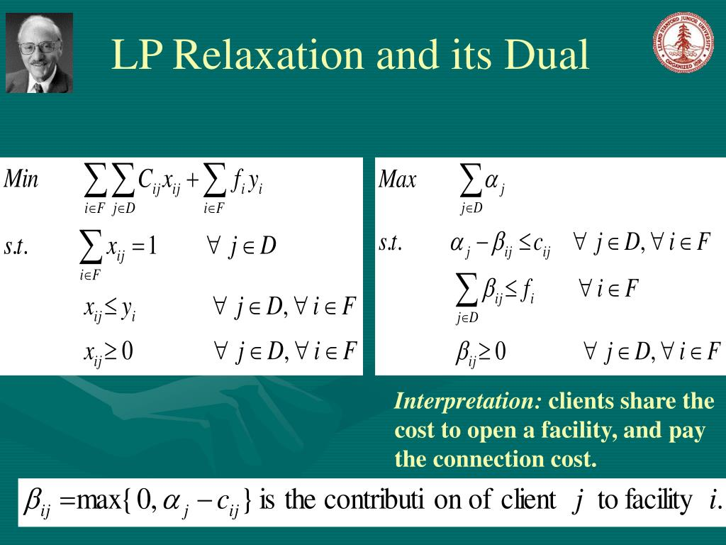 LP Relaxation and its Dual