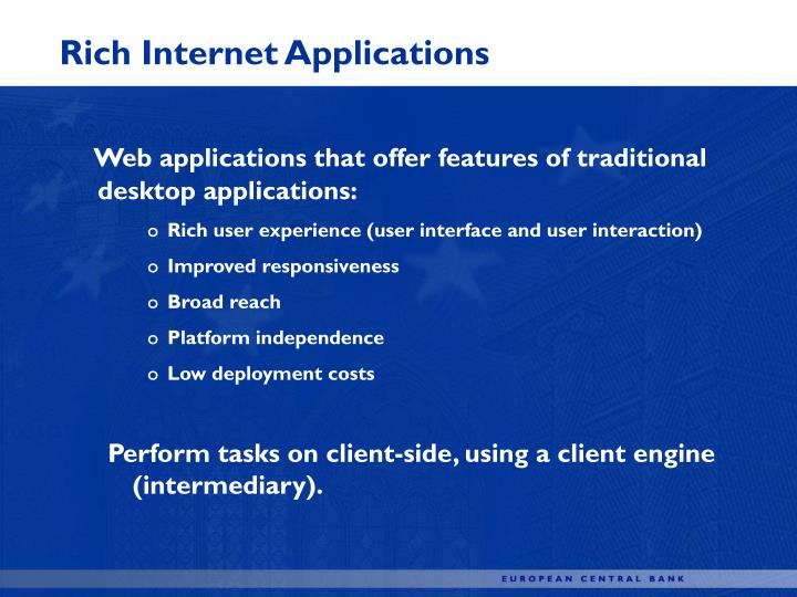 Rich Internet Applications