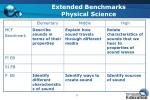 extended benchmarks physical science15