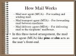 how mail works