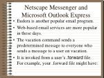 netscape messenger and microsoft outlook express9