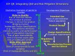ich q8 integrating qbd and risk mitigation dimensions