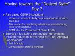 moving towards the desired state day 2