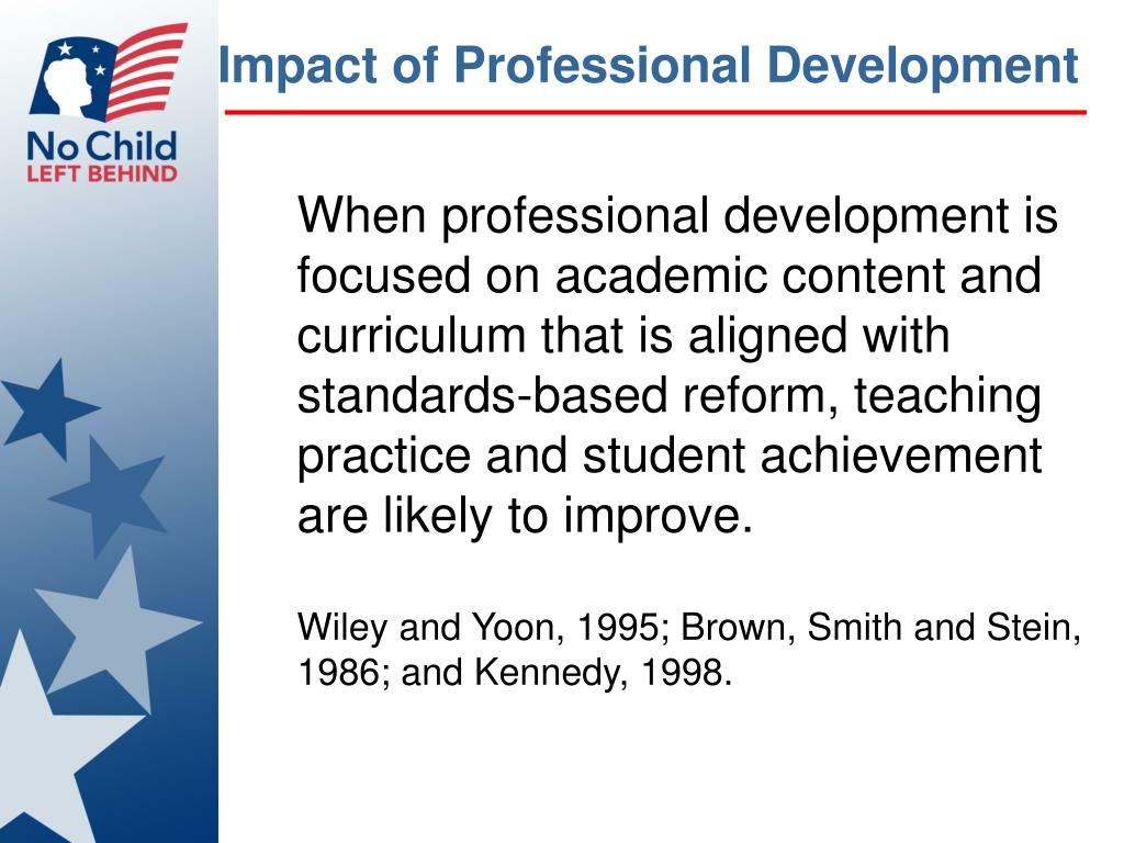 Impact of Professional Development