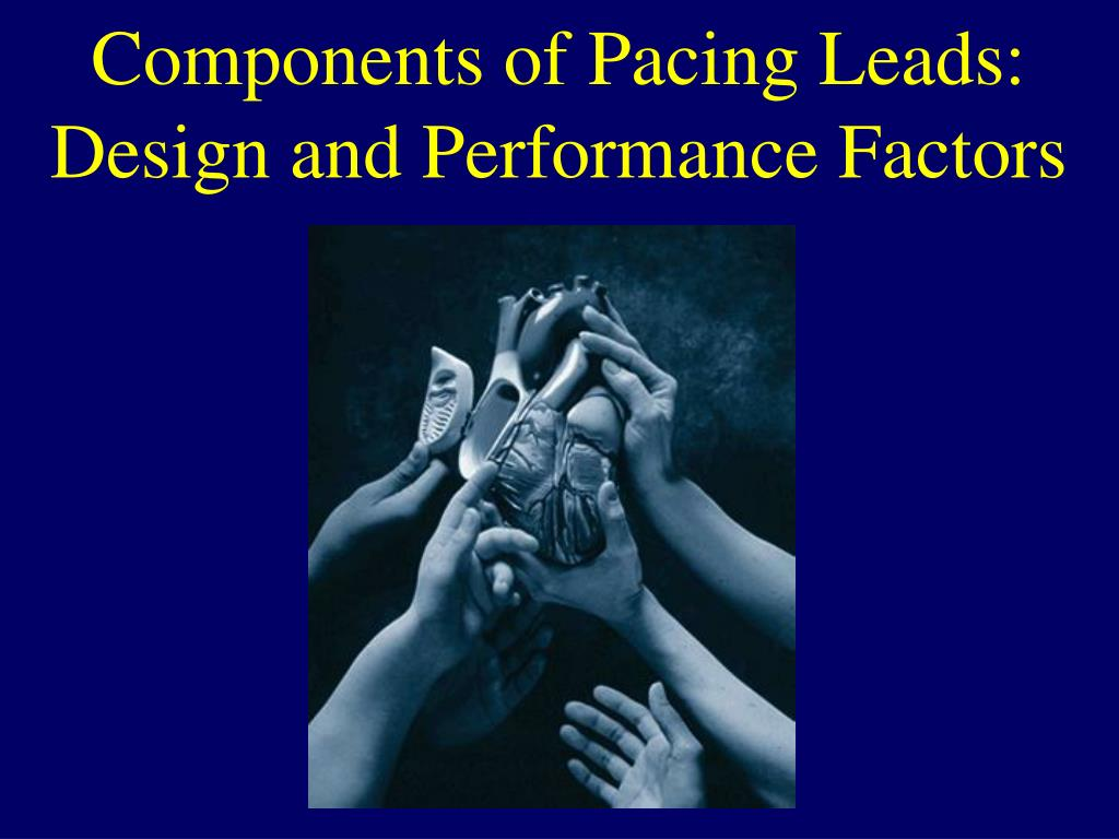 components of pacing leads design and performance factors l.