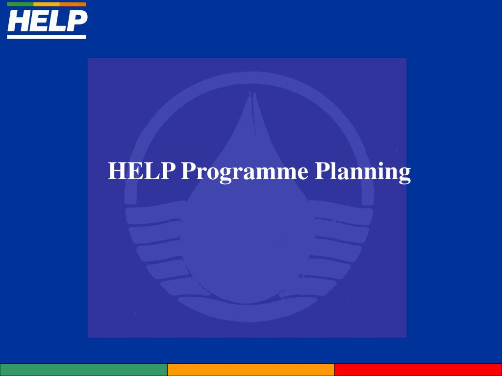 HELP Programme Planning