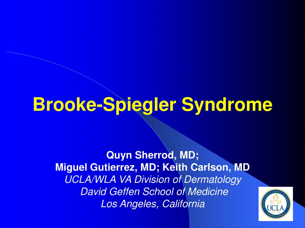 brooke spiegler syndrome l.