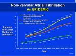 non valvular atrial fibrillation an epidemic3