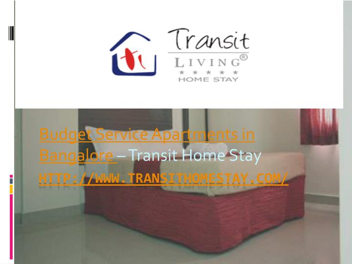 Budget service apartments in bangalore transit home stay