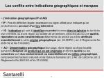 les conflits entre indications g ographiques et marques1