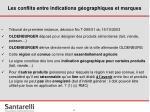 les conflits entre indications g ographiques et marques7