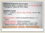 california legal reporters