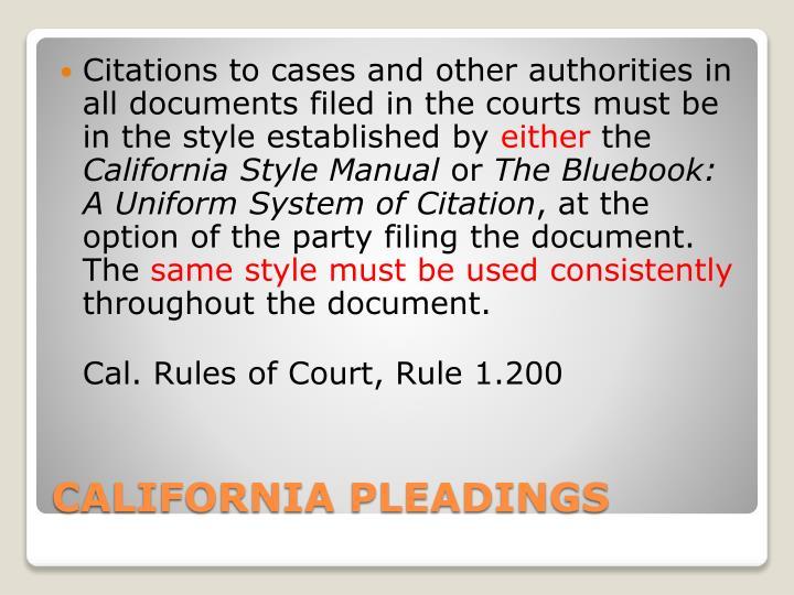 ppt legal citation powerpoint presentation id 156130