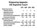 disposing appeals us supreme court