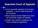 supreme court of appeals