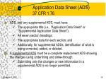 application data sheet ads 37 cfr 1 76