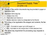 document supply fees 37 cfr 1 19