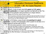 information disclosure statements 37 cfr 1 98 no copies required