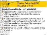 practice before the bpai reply brief 41 41