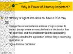 why is power of attorney important