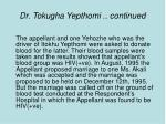 dr tokugha yepthomi continued