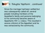 dr tokugha yepthomi continued35