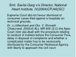 smt savita garg v s director national heart institute iv 2004 cpj40 sc