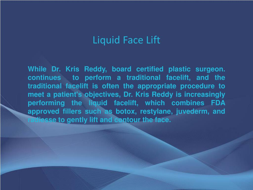 Liquid Face Lift