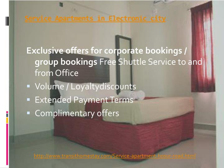 Service apartments in electronic city3