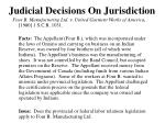 judicial decisions on jurisdiction25