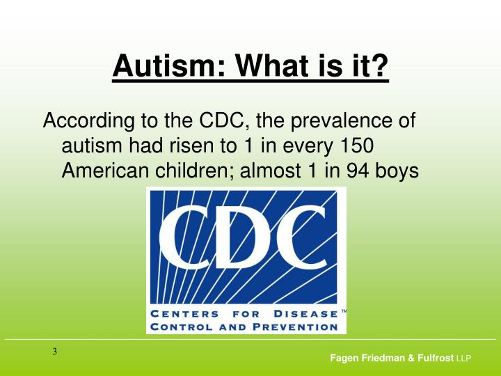 Autism what is it