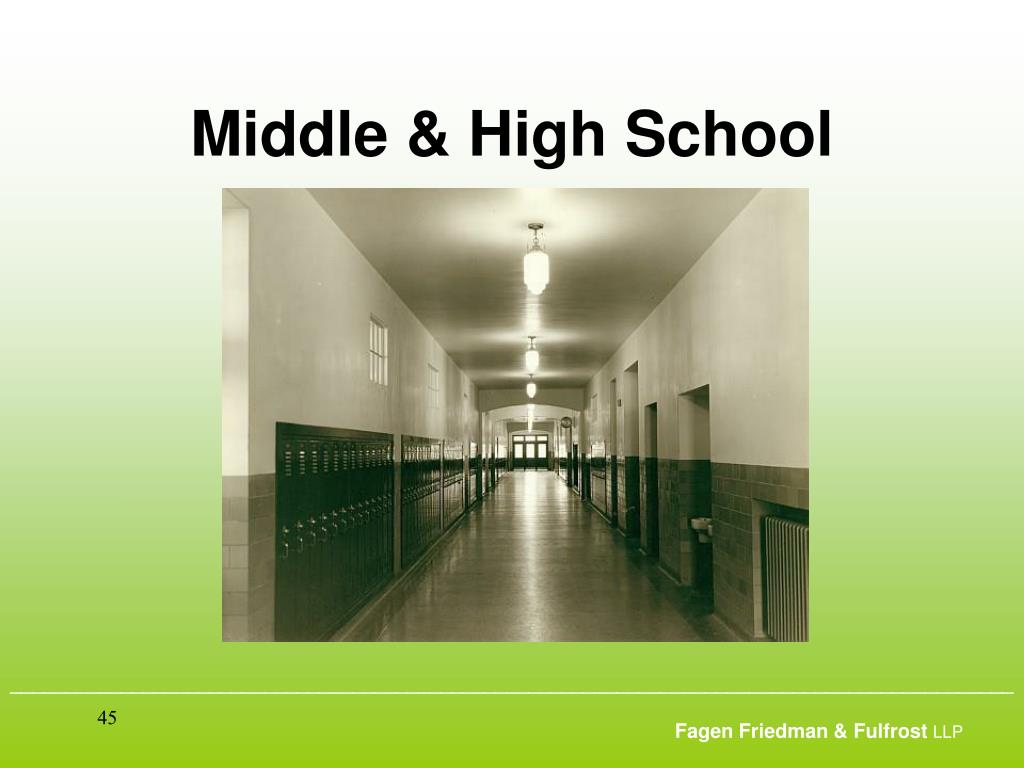Middle & High School