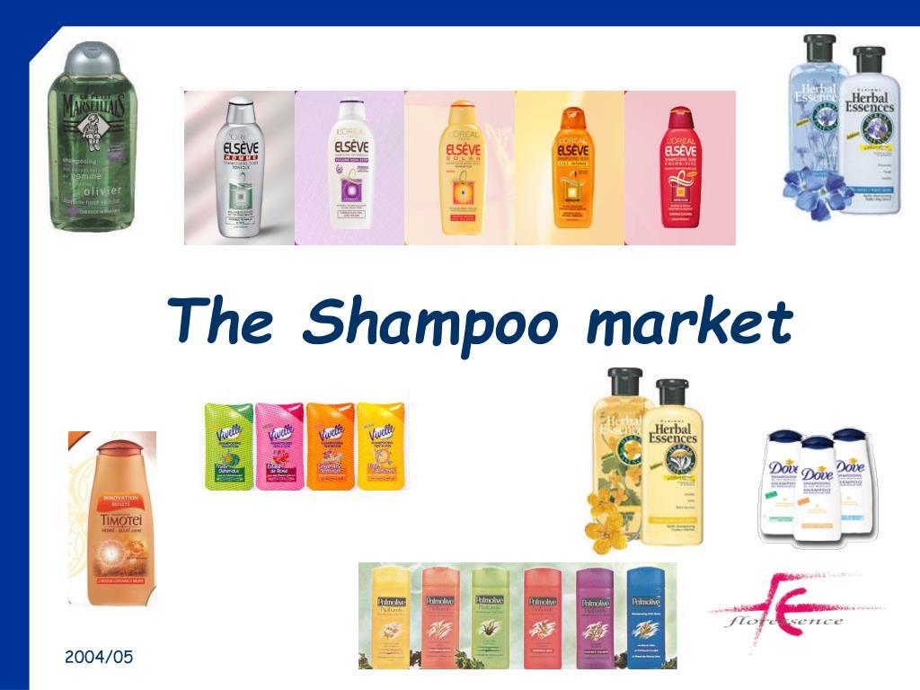 the shampoo market l.