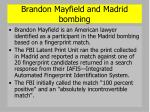 brandon mayfield and madrid bombing