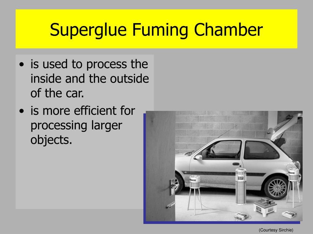 Superglue Fuming Chamber